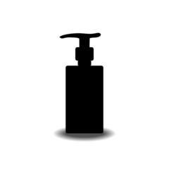 gel foam or liquid pump plastic bottle