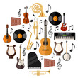 Assorted Musical Instruments - 80238849