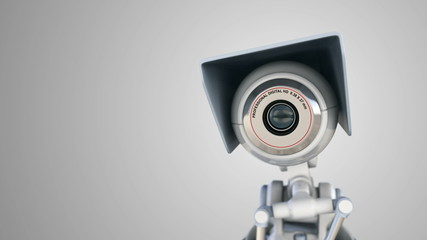 Automated surveillance camera