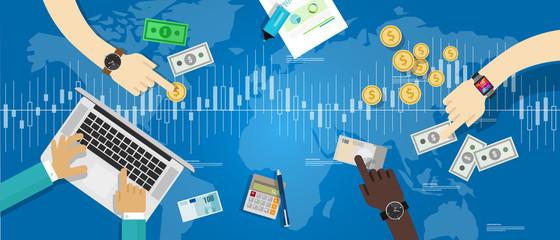 stocks market economy rate