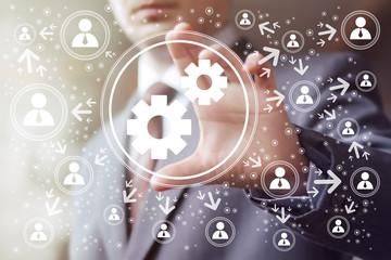 Button engineering business web communication.