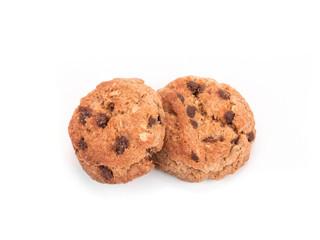 set round wholewheat biscuits