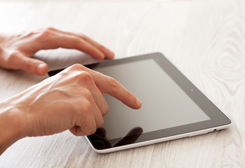 Touching tablet pc
