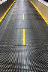 Airport moving sidewalk