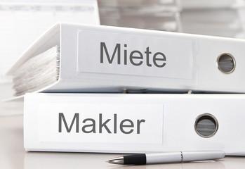 Miete / Makler Ordner