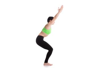 Chair yoga Pose