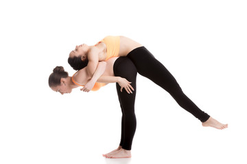 Yoga coaching, exercises for shoulders