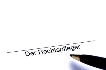 Unterschrift des Rechtspflegers
