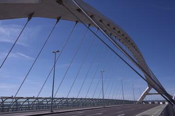 Tercer Milenio bridge, Zaragoza, Spain