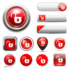 lock web button