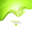 Abstract curved lines background. Template brochure design - 80247650