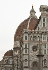 Basilica Saint Mary of the Flower in Florence, Italy