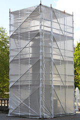 Monument scaffolding