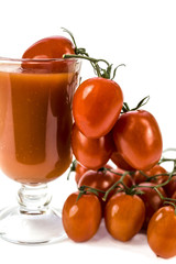 juice from tomatoes