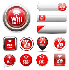 wifi free button