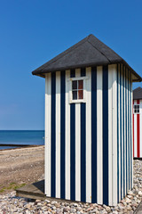 Badehäuschen am Strand von Rageleje - Dänemark 6