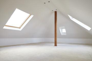 Dachgeschossausbau mit Dachfenster