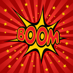 boom label vector