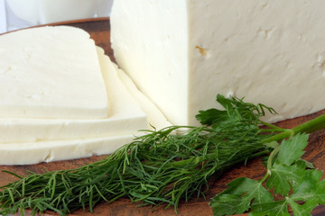 Сыр брынза 1