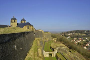 Montmédy depuis la citadelle, Lorraine