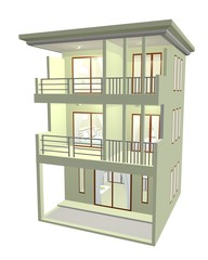 3D Townhome