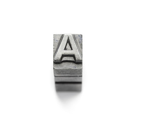 Metal Alphabet letter English a to z