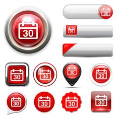 30 calendar button