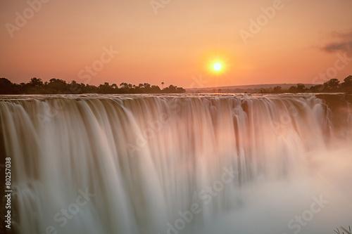 Foto op Aluminium Overige Victoria Falls
