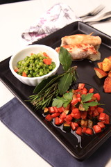 carotine in agrodolce e manzo