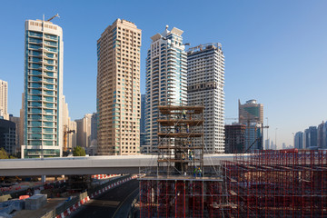 Construction Site in Dubai, United Arab Emirates
