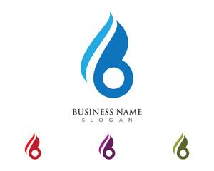 b Flame Logo