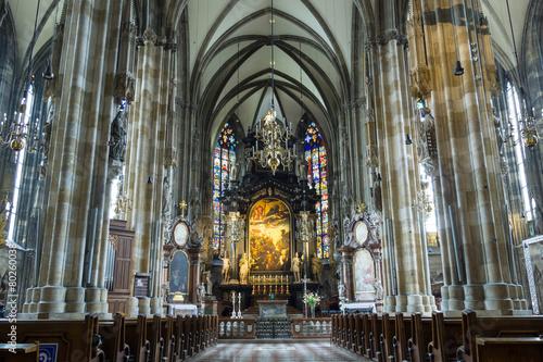Foto op Plexiglas Wenen St. Peter's Church (Peterskirche)