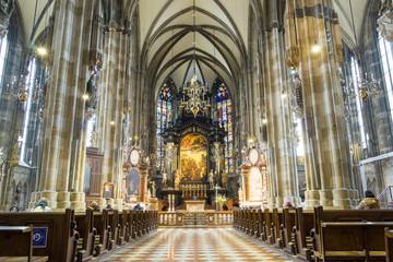 Peterskirche at Vienna, Austria