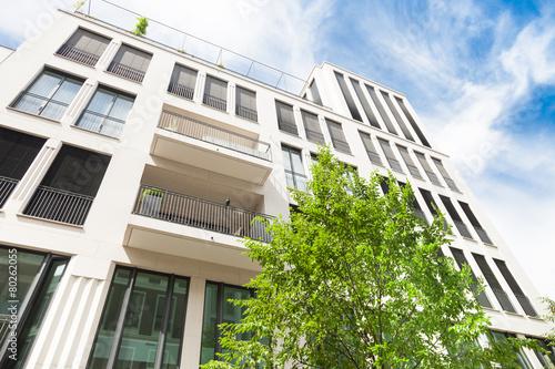 Leinwanddruck Bild Gebäude in Deutschland - Wohnungen