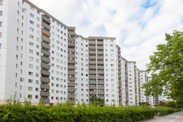 Wohnsiedlung in Berlin - Hochhäuser