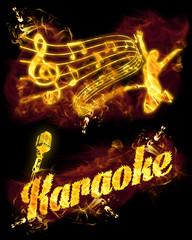 Fire Karaoke Set
