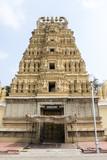 Temple of Maharadja's palace in Mysore, Karnataka - South India