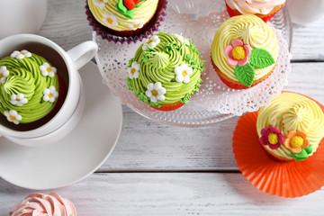 Beautiful Easter Cupcakes