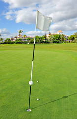Golf Course, Andalusia, Spain