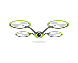 Drone Flying Viewer Aerial