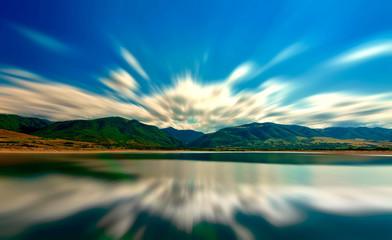 Ostrov Lake, Romania