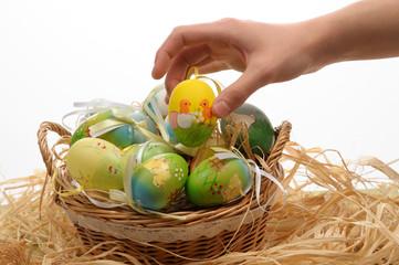 Il cestino della Pasqua