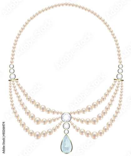 Pearl necklace - 80266474