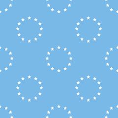 European Union seamless pattern