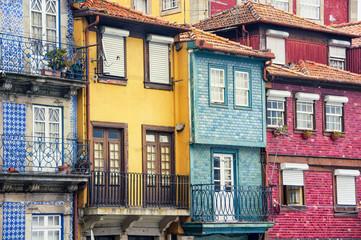 Colorful houses of Porto Ribeira