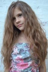 Красивая девушка подросток