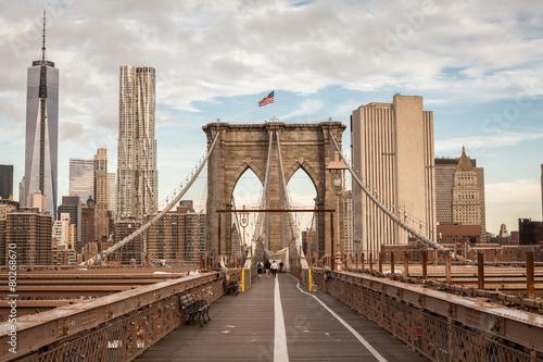 Brooklyn Bridge, New York, USA - 80268670
