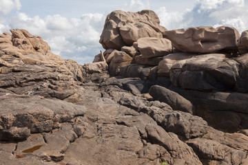 granitküste bei ploumanach