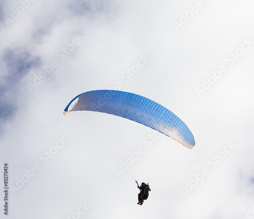 Foto op Plexiglas Luchtsport skydiver against the sky