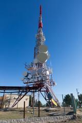 Telecommunication mast  antennas